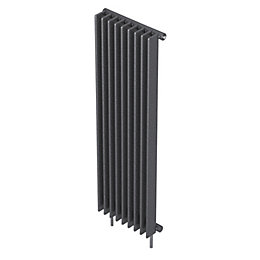 Seren Conqueror 10 Column Radiator, Gun Metal (W)400mm