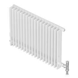 Seren Conqueror 30 Column Radiator, Matt White (W)1200mm