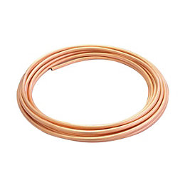 Wednesbury Compression Copper Copper Tube (Dia)8mm (L)10M