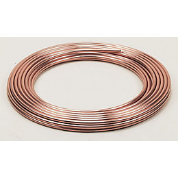 Wednesbury Copper Tube (Dia)10mm (L)10m