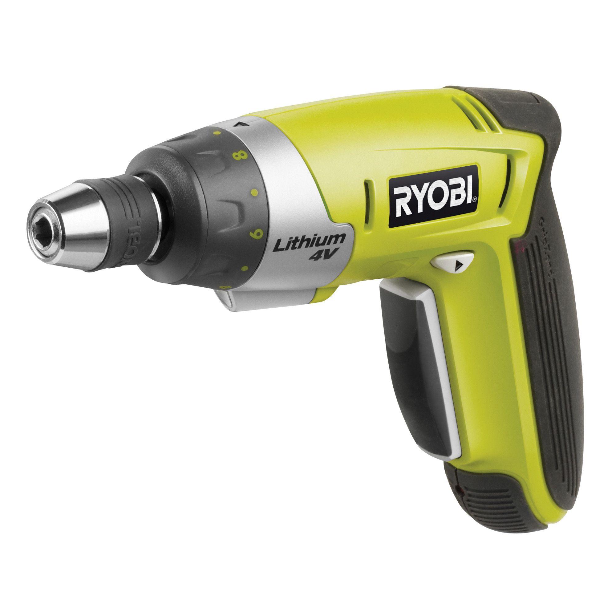Ryobi 4v Li Ion Cordless Screwdriver Csd4107bg