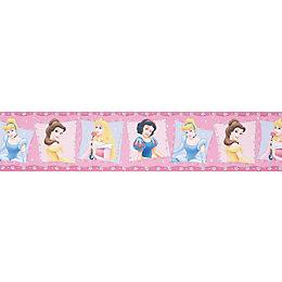 Disney Princess Multicolour Border