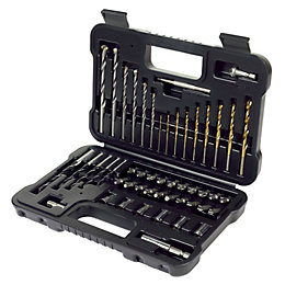 Black & Decker Drill Bit Accessory Set, 50