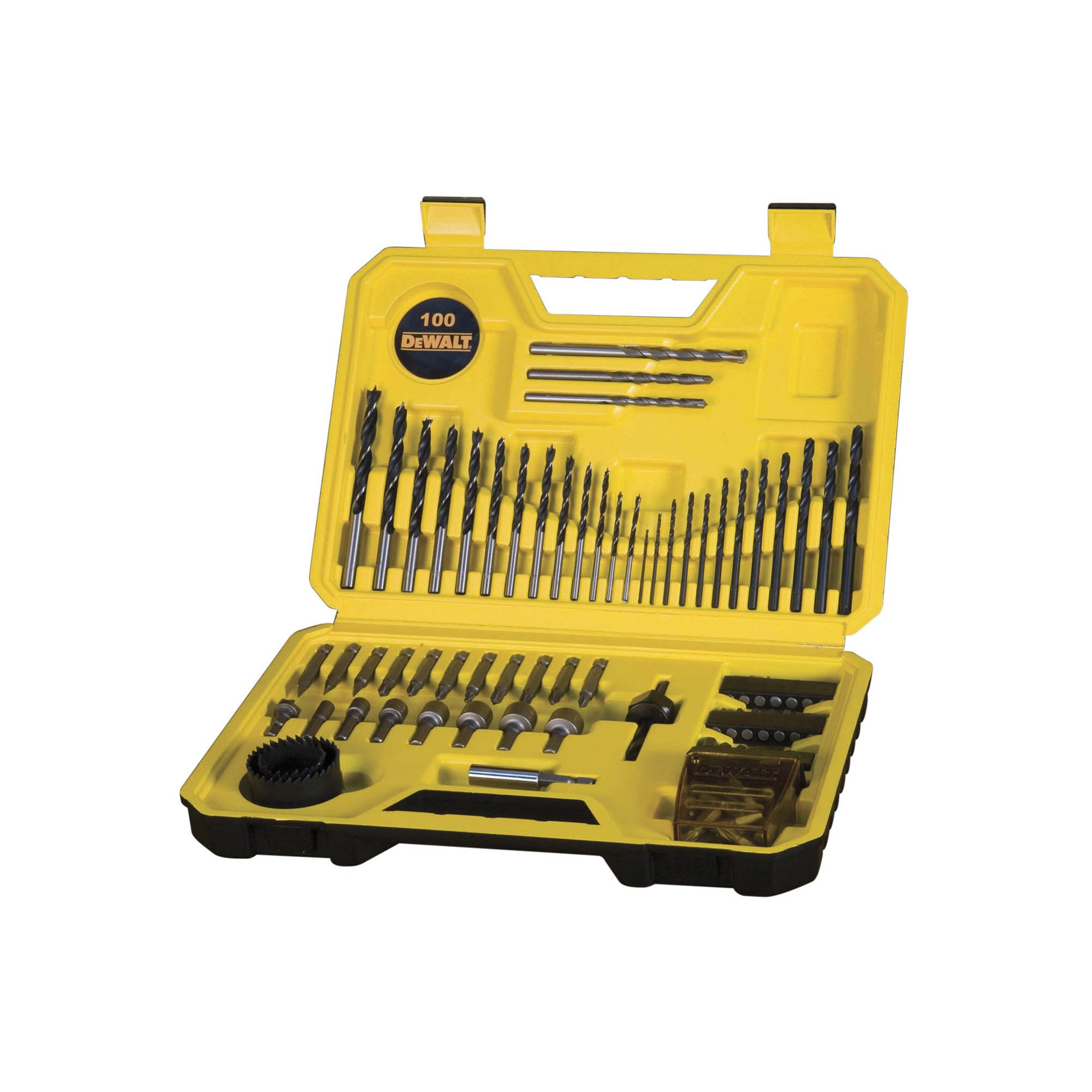 Dewalt Mixed Drill Bits, 100 Set