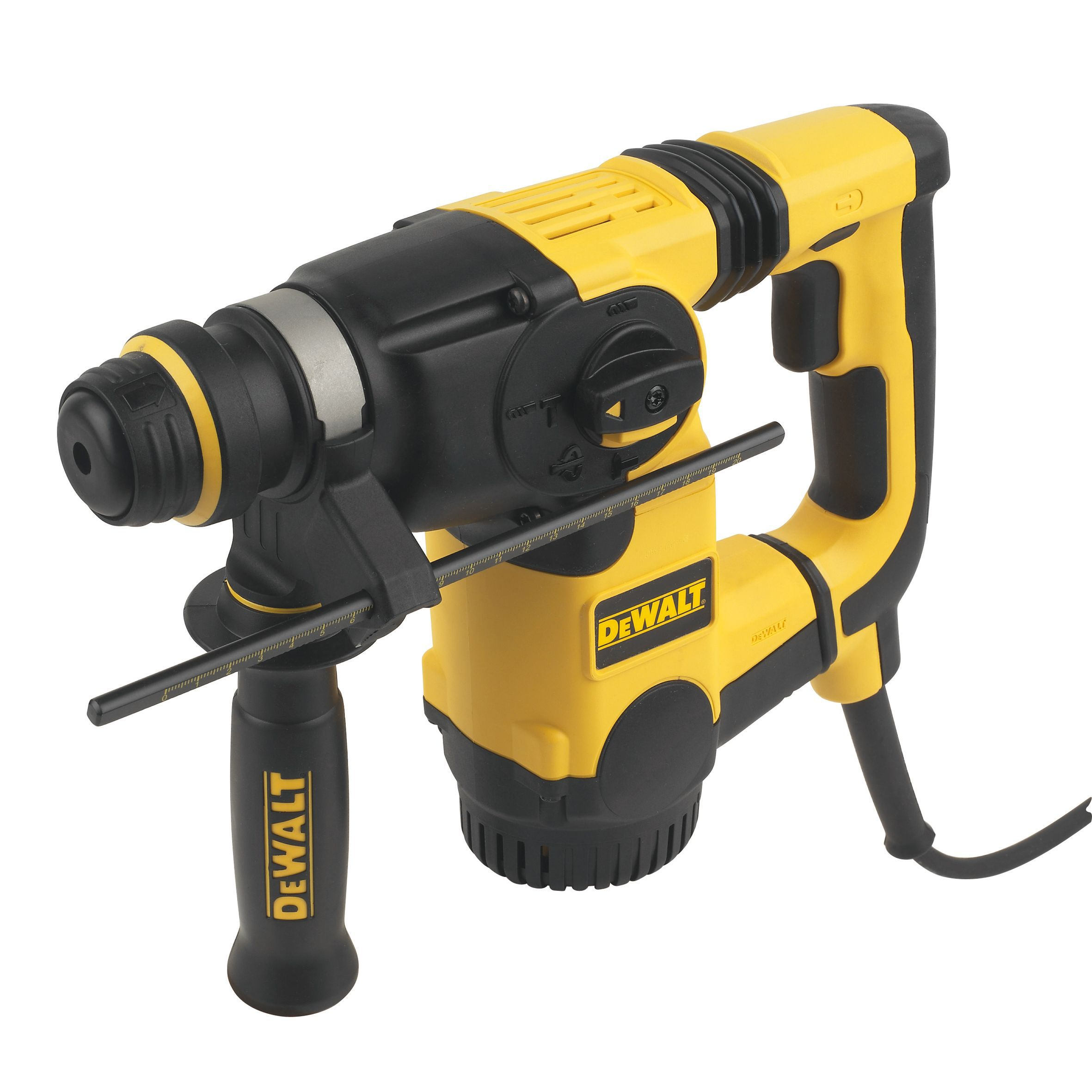 dewalt 800w 240v corded sds plus hammer drill d25323k gb. Black Bedroom Furniture Sets. Home Design Ideas
