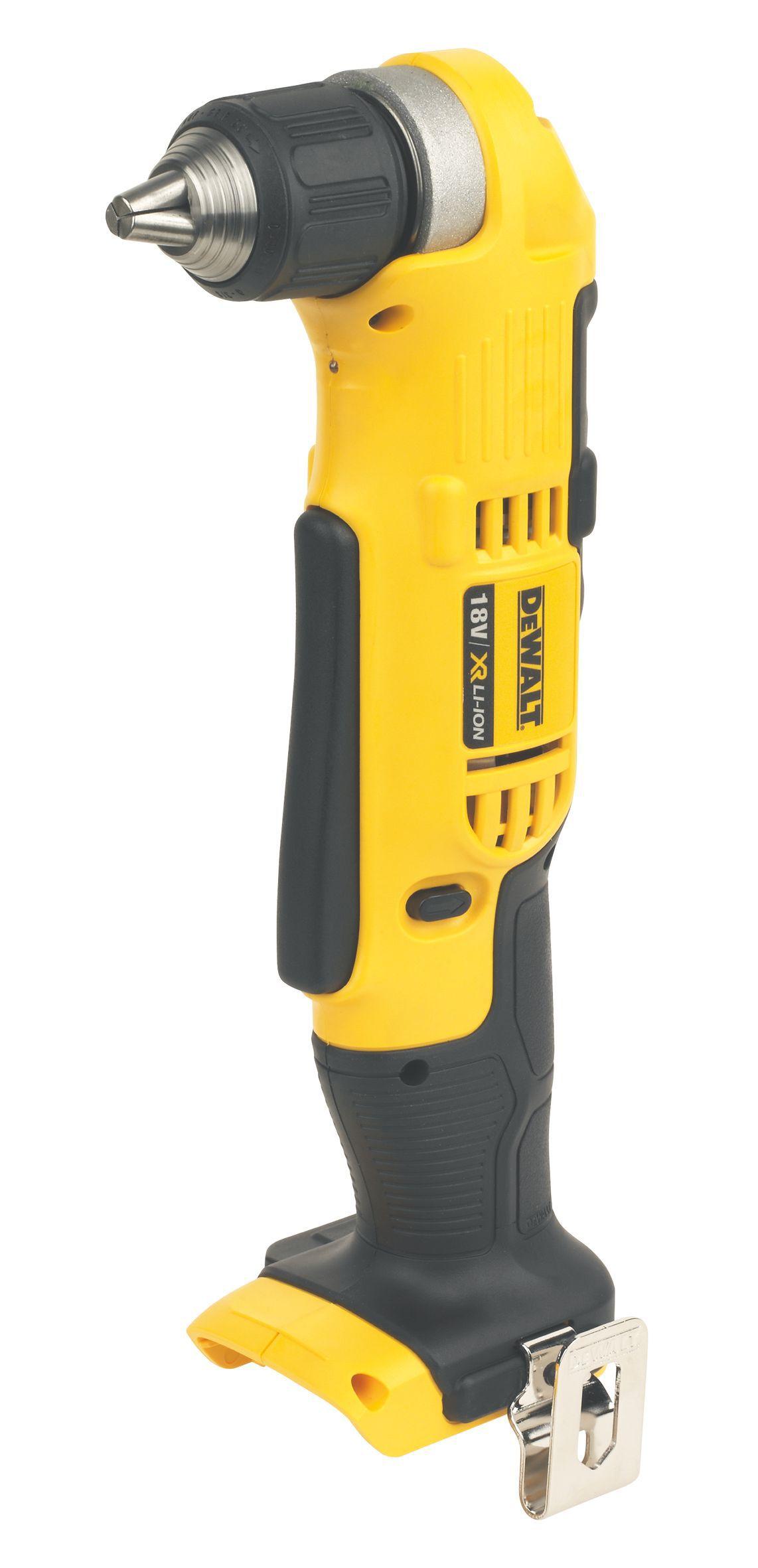 Dewalt Xr Cordless 18v Angled Drill Driver Dcd740n-xj - Bare