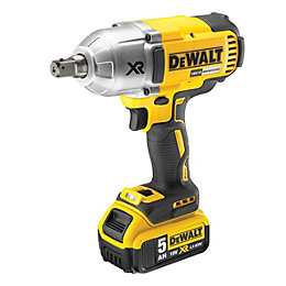 DeWalt XR Cordless 18V 5Ah Li-Ion Impact Wrench
