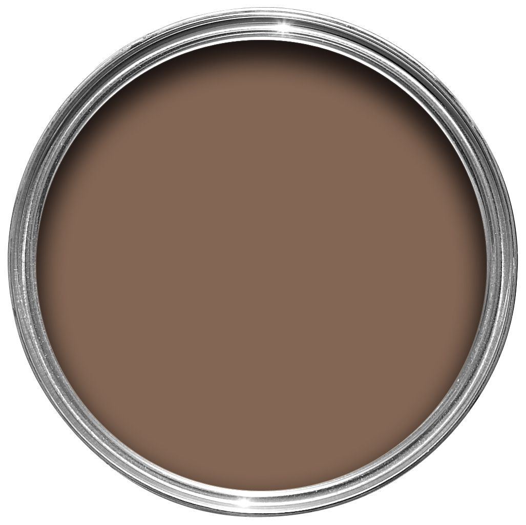 Craig & Rose Authentic Period Colours Mortlake Brown Chalky Matt Emulsion Paint 2.5l