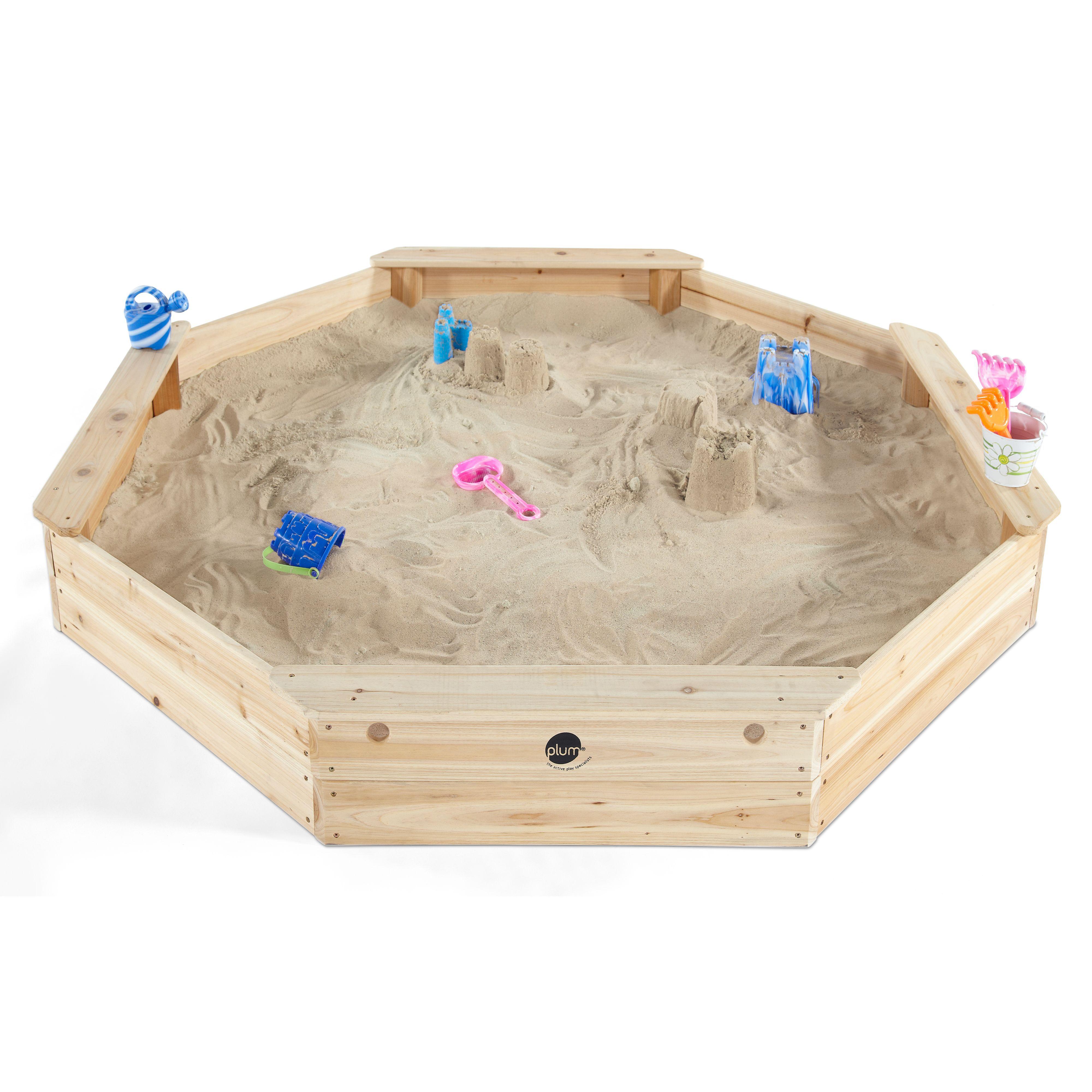 Plum Giant Sand Pit L1.77 x W1.77 x H0.23M