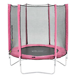 Plum Pink 6 ft Trampoline & Enclosure