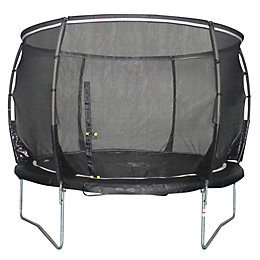 Plum Magnitude Black 8 ft Trampoline & Enclosure