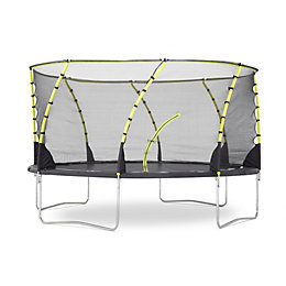 Plum Whirlwind 14 ft Trampoline & Enclosure