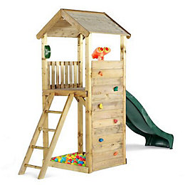 Plum Premium Wooden Look Out Tower