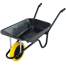 Walsall Green & Yellow 85L Wheelbarrow