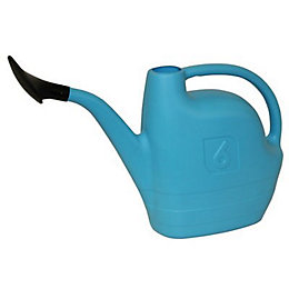 Active Blue HDPE Plastic Watering Can 6L