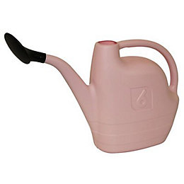 Active Pink High-Density Polyethylene Watering Can 6L
