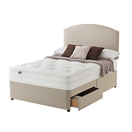 Silentnight 1200 Pocket Luxury Super Kingsize Divan 2-Drawer