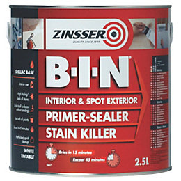 Zinsser B-I-N White Matt 2.5L