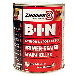 Zinsser Bin White Primer & Undercoat 1L