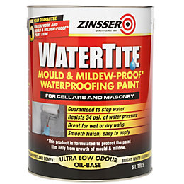 Zinsser Watertite White Matt Waterproofing Paint 5000 ml