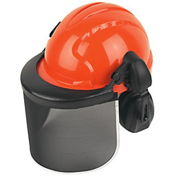 JSP Orange Forestry Helmet