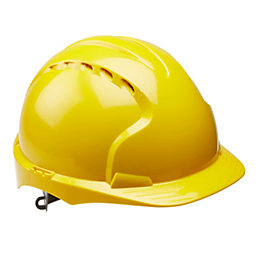 JSP Yellow Safety Helmet
