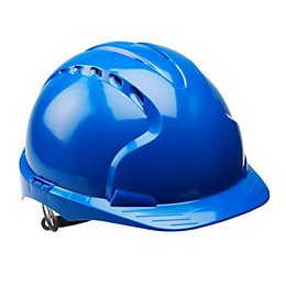 JSP Blue Safety Helmet