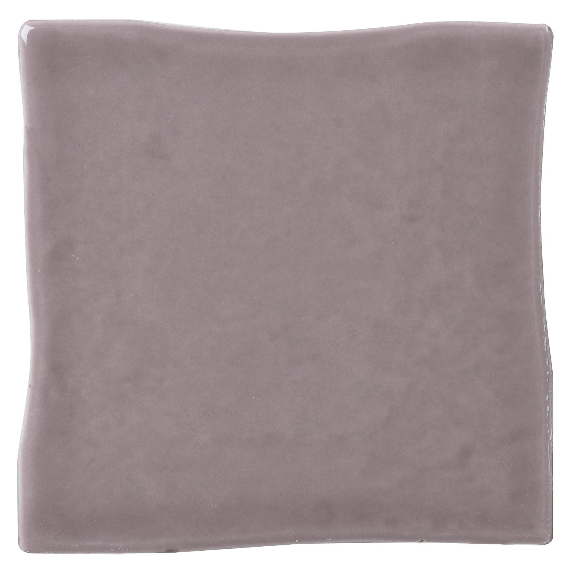 Padstow Taupe Ceramic Wall Tile, Pack Of 25, (l)100mm (w)100mm