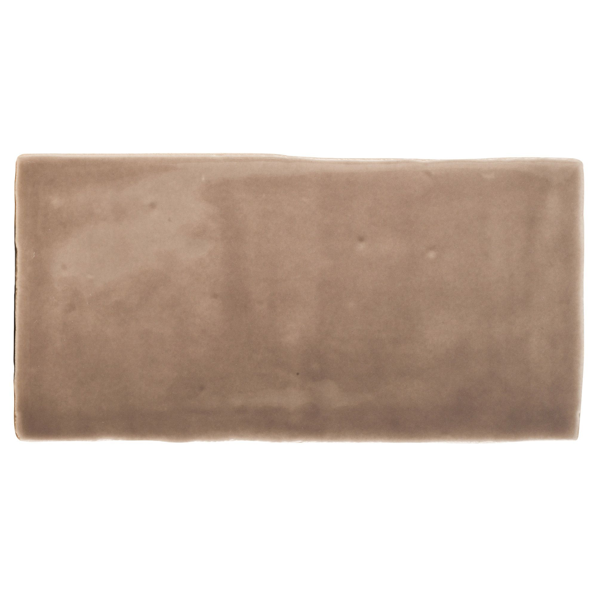 Padstow Taupe Ceramic Wall Tile, Pack Of 44, (l)150mm (w)75mm