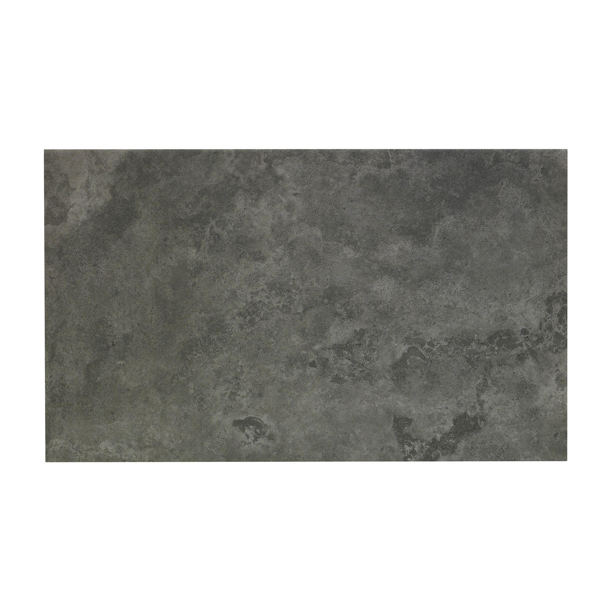 Oscano graphite stone effect ceramic wall floor tile pack of 6 oscano graphite stone effect ceramic wall floor tile pack of 6 l498mm w298mm departments diy at bq dailygadgetfo Gallery