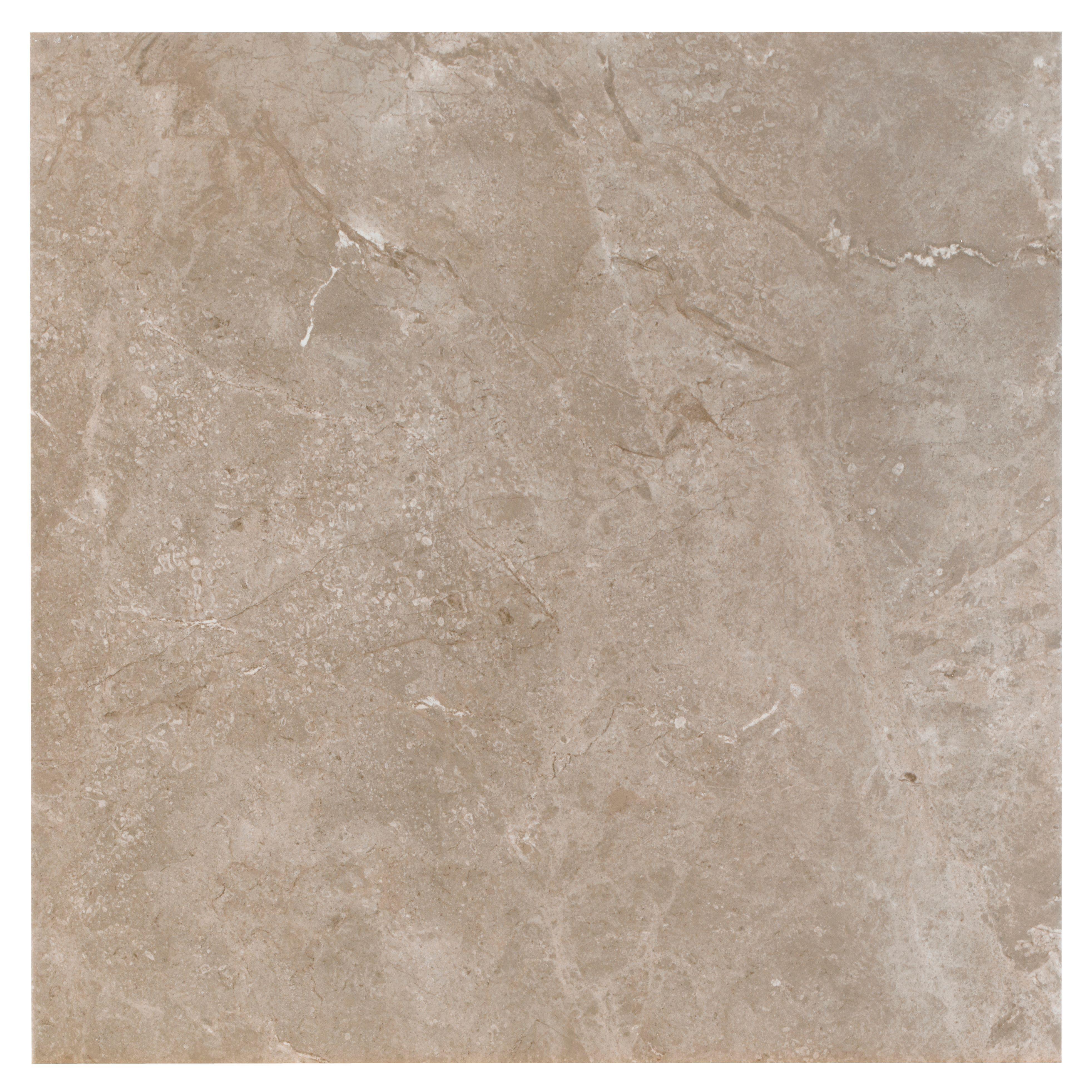 Urban White Stone Effect Ceramic Wall Floor Tile Pack: Burlington Limestone Earth Riven Stone Effect Ceramic Wall