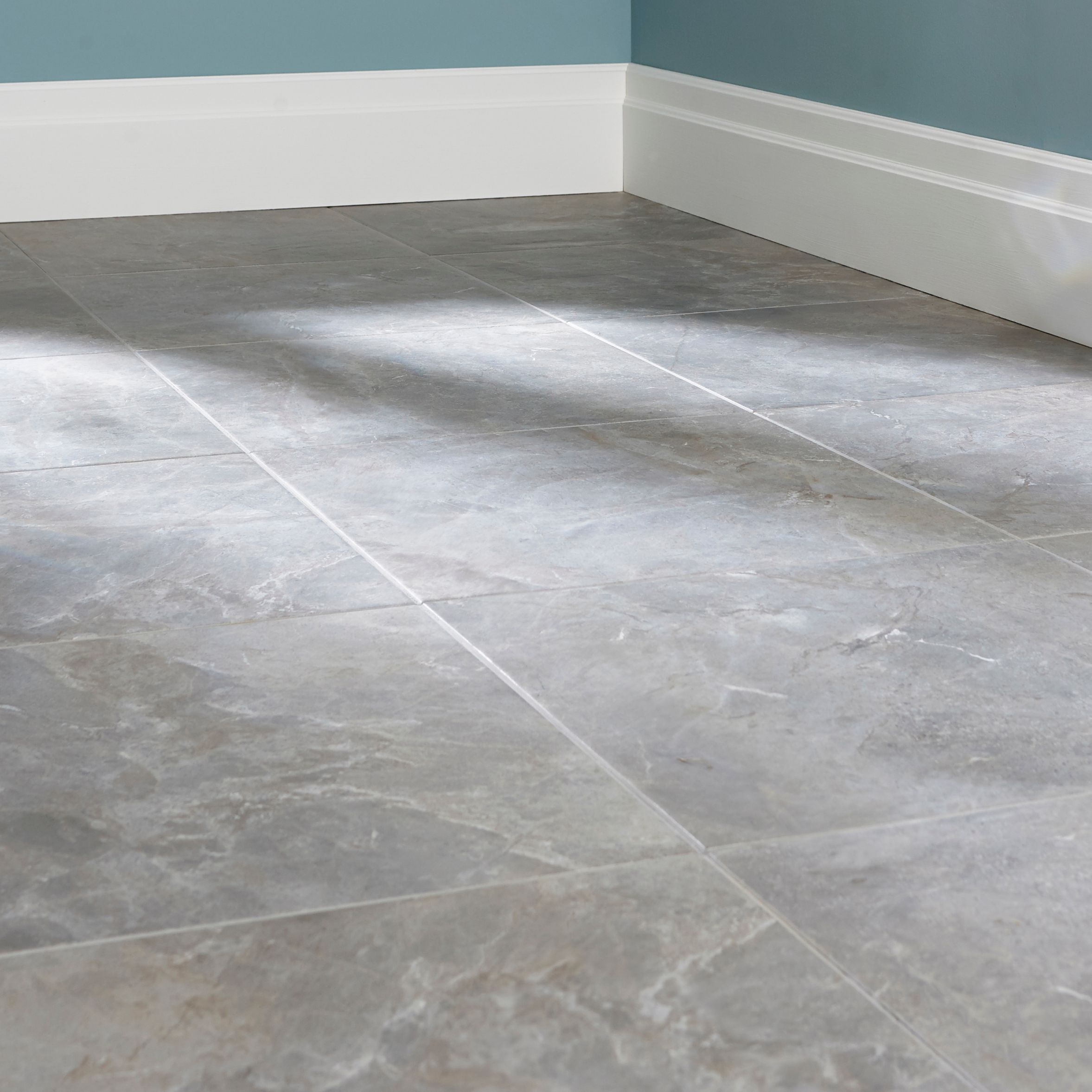 Urban Cement Grey Stone Effect Ceramic Wall Floor Tile: DIY At B&Q
