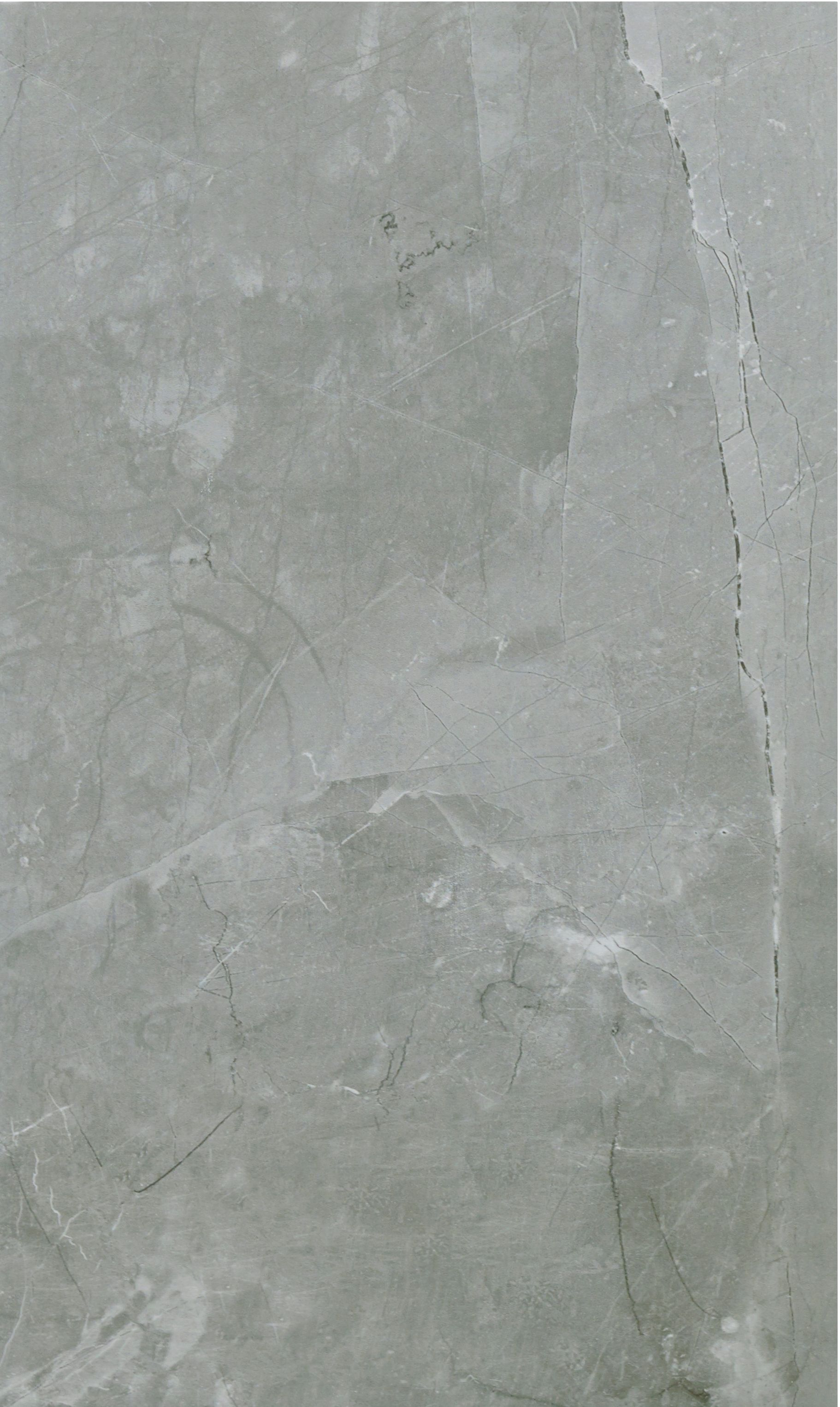 Arlington Silver Marble Stone Effect Ceramic Wall & Floor Tile, Pack of 6,  (L)498mm (W)298mm | Departments | DIY at B&Q