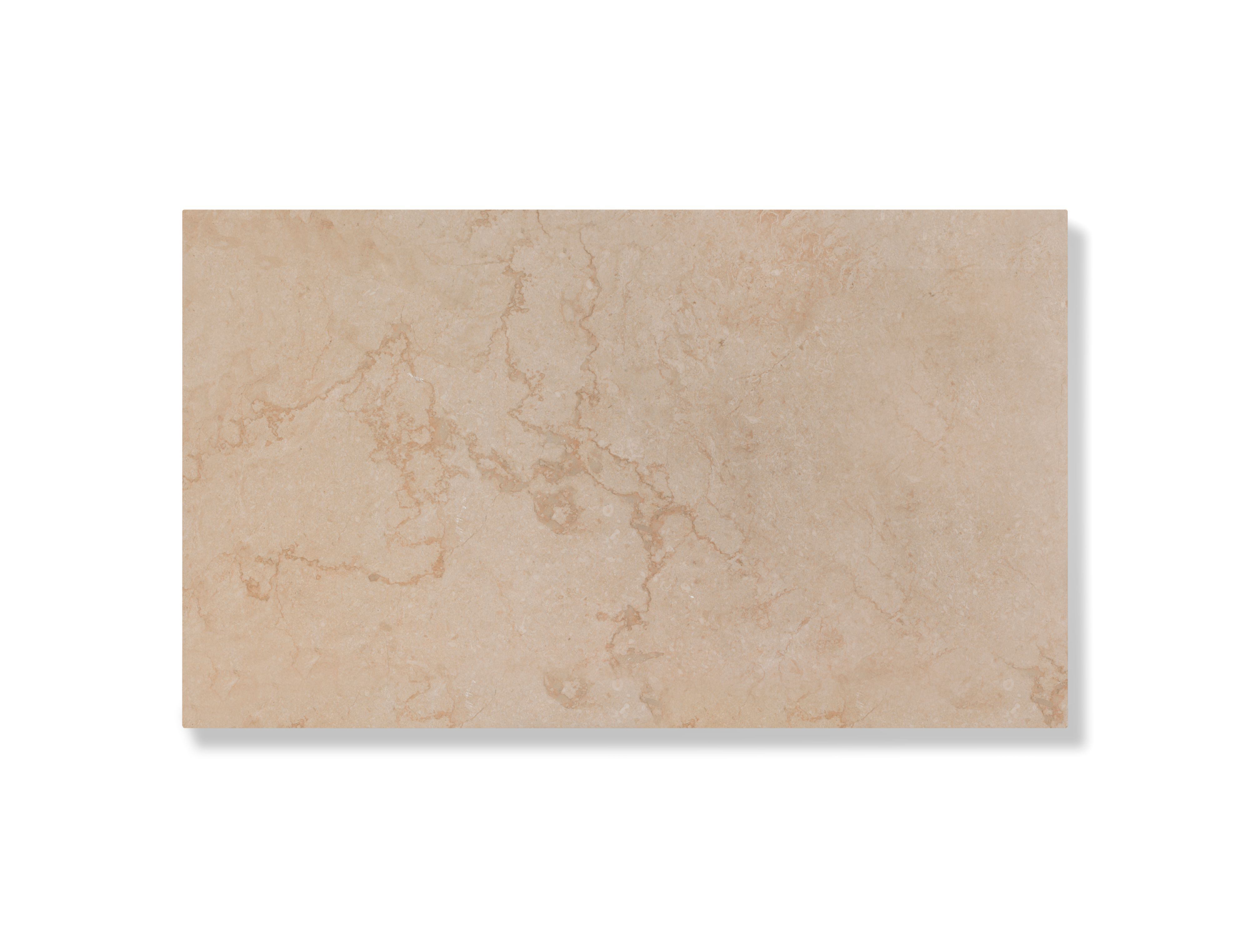 Hartford Marble Stone Stone Effect Plain Ceramic Wall & Floor Tile, Pack Of 6, (l)298mm (w)498mm