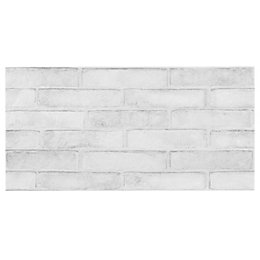 Lofthouse Whitewash Brick Effect Ceramic Wall & Floor