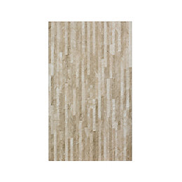Haver Splitface Sand Ceramic Wall Tile, Pack of