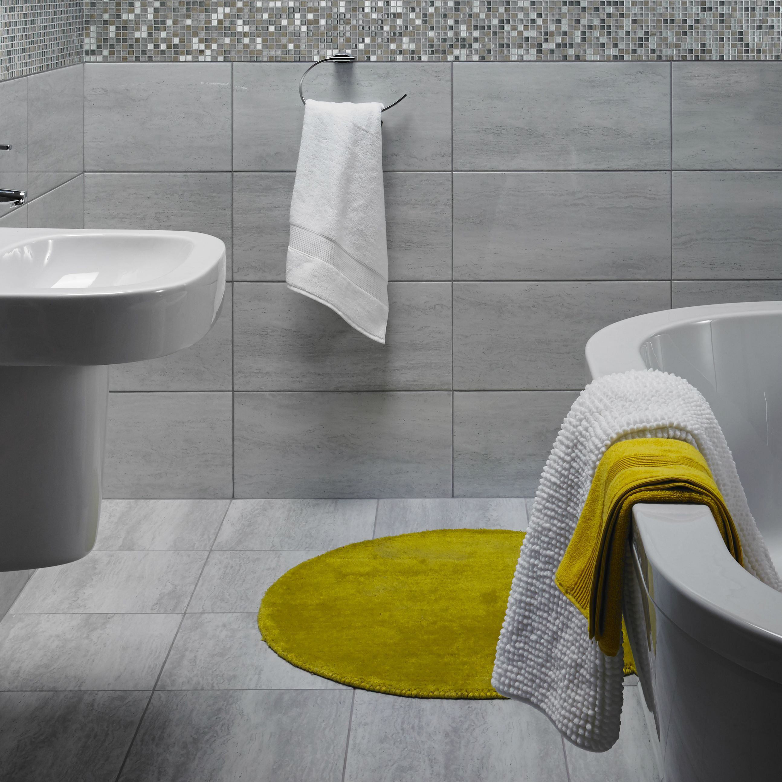 Origin Linear Pebble Stone Effect Ceramic Wall & Floor Tiles,