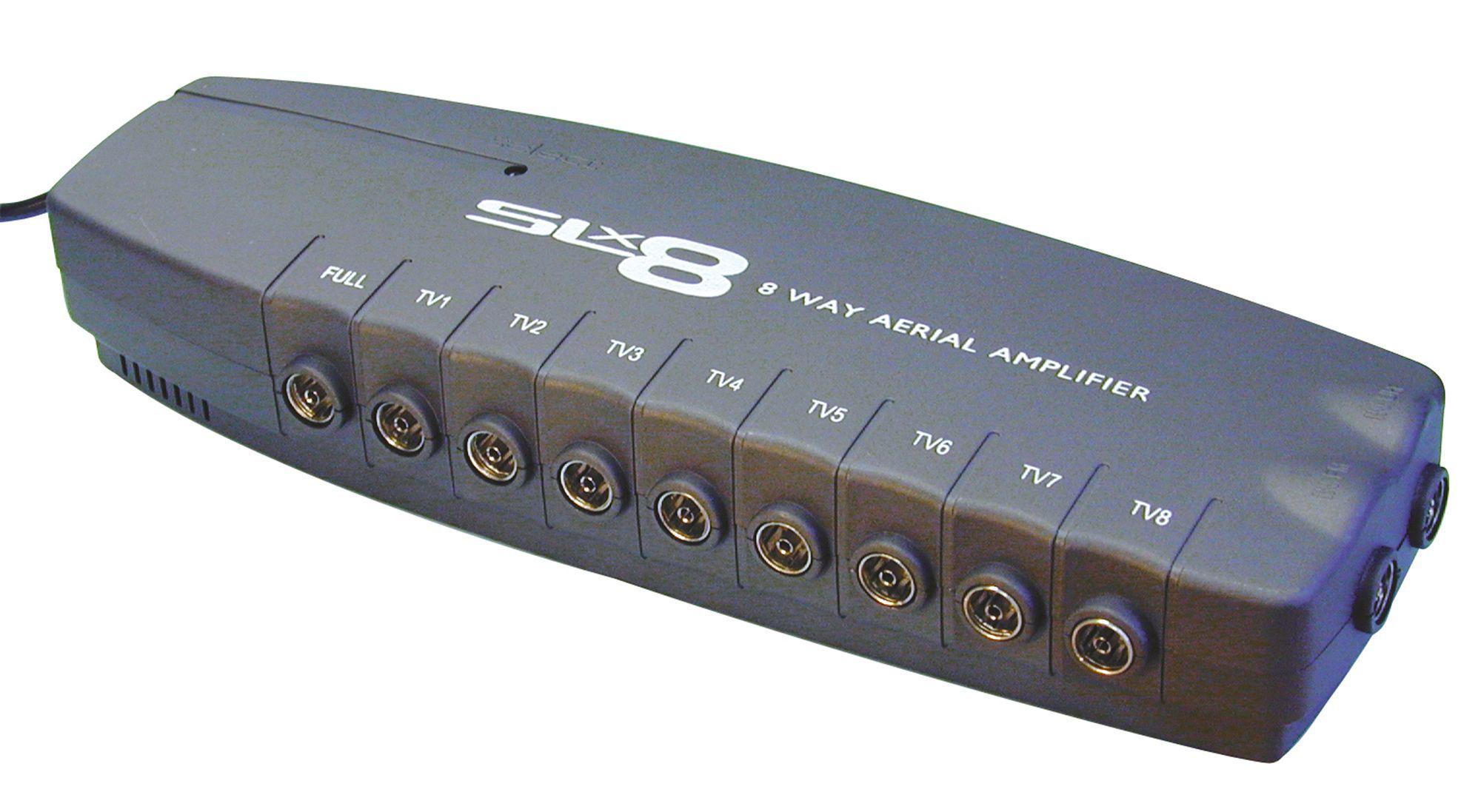 tristar 8 8 way pro amplifier departments diy at b q slx aerial amplifier