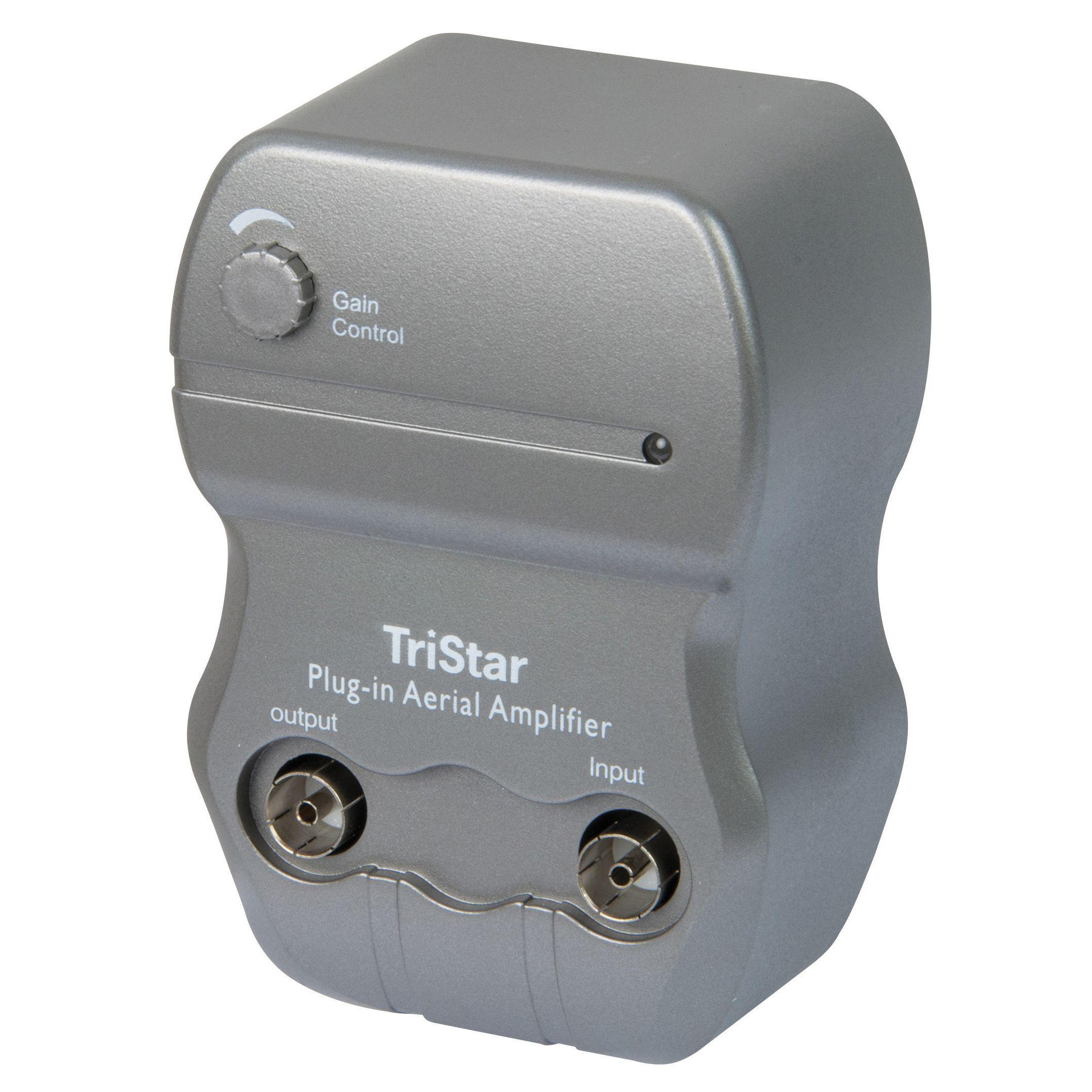 tristar 8 8 way pro amplifier departments diy at b q tristar 1 1 way signal amplifier