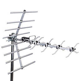 Tristar Silver Outdoor Digital TV Aerial