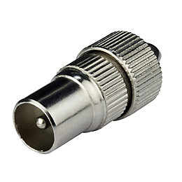Tristar Coaxial Plug, Pack of 2