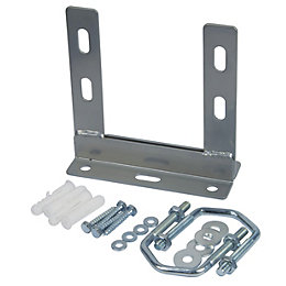 Tristar Silver Outdoor Aerial Wall Fixing Kit