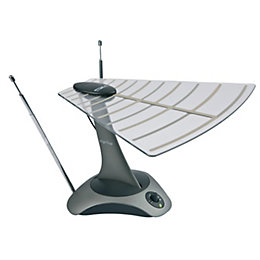 Tristar Grey Indoor Digital TV Aerial