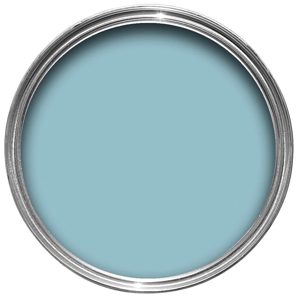 Blue Exterior Paint DIY