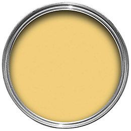 Fired Earth Aconite Yellow Matt Emulsion Paint 2.5L