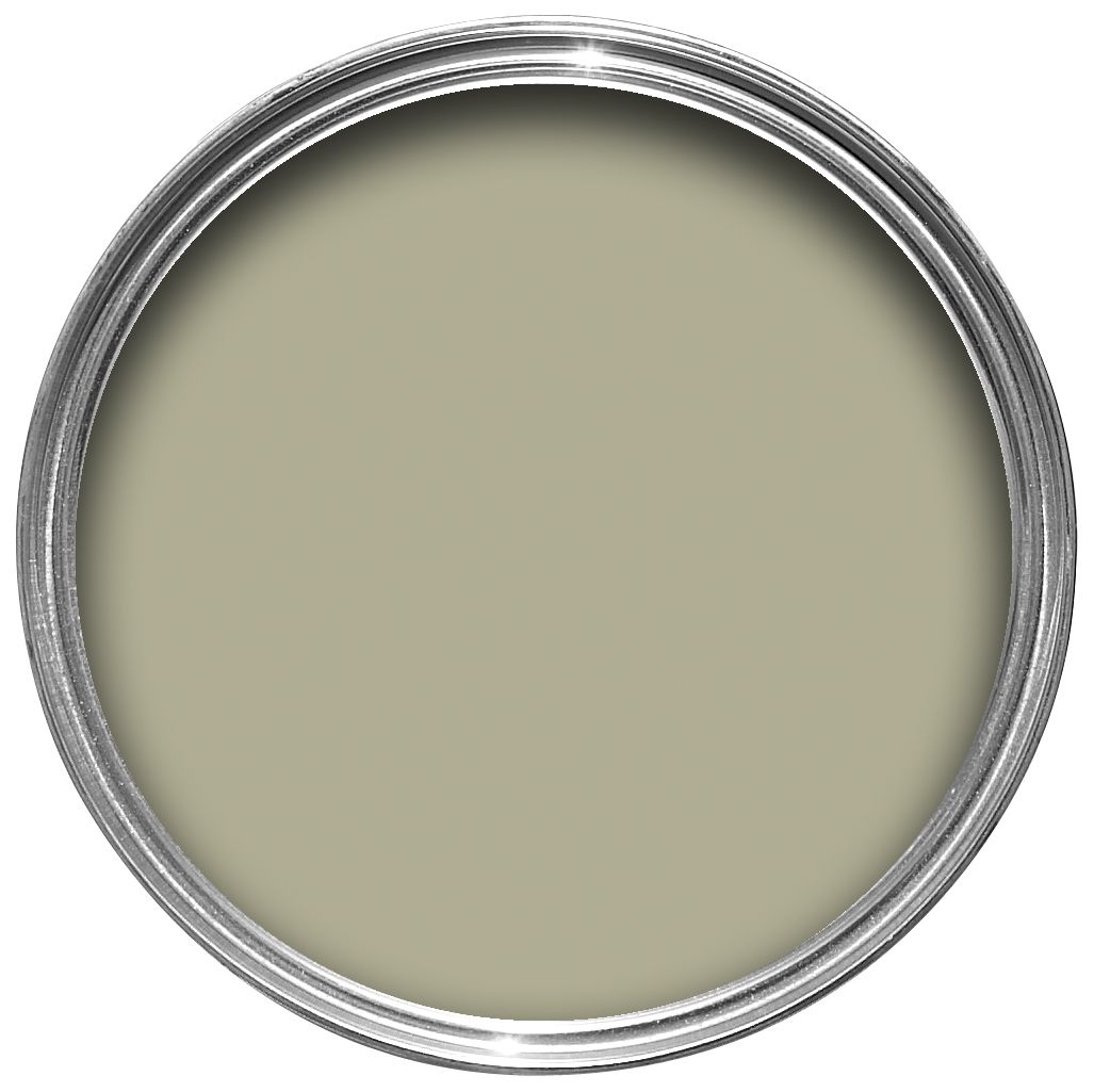 Overtly Olive Kitchen Paint: Fired Earth Elements Of Colour Verde-Antique Chalky Matt
