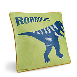 Dino Doodles Dinosaur Multicolour Cushion