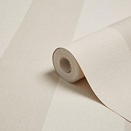 Arthouse Aliona Neutral Stripe Wallpaper