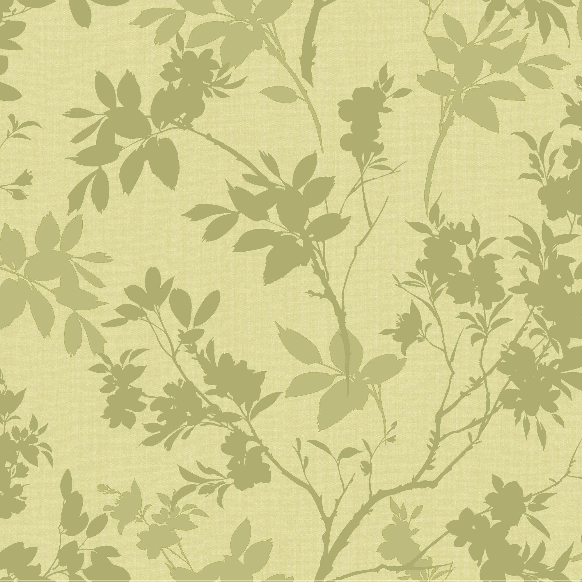 arthouse eco divine motif green floral wallpaper On green wallpaper b q