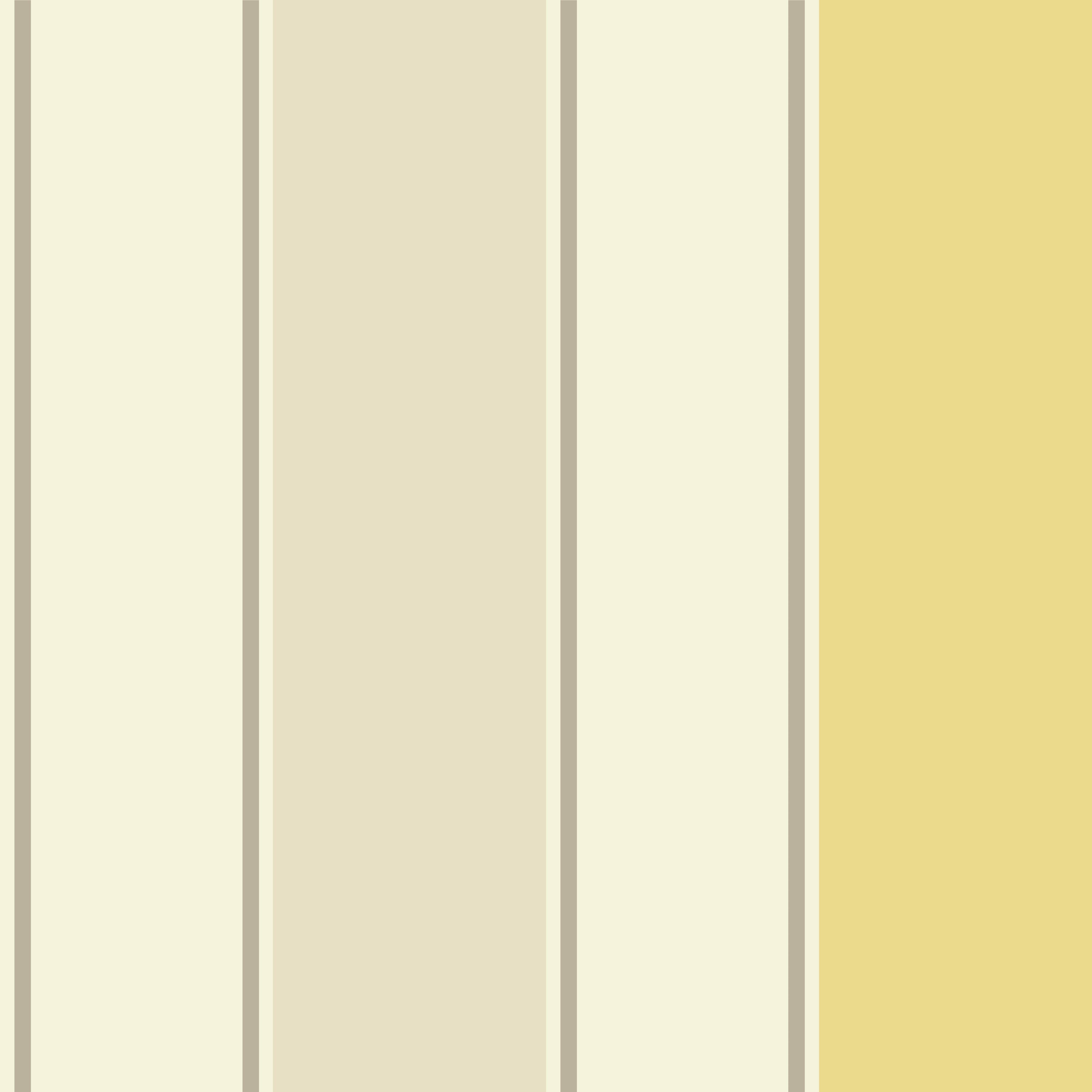 Sophie Conran Decoris Yellow Stripe Wallpaper